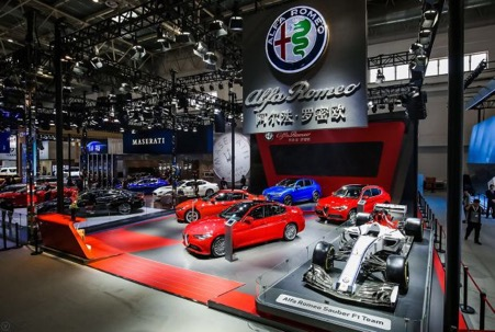 Alfa Romeo launches Stelvio Quadrifoglio at Auto China 2018