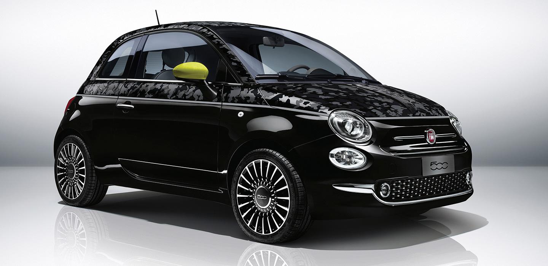 Black Fiat 500
