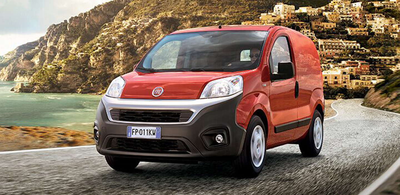 Fiat Professional Fiorino Red