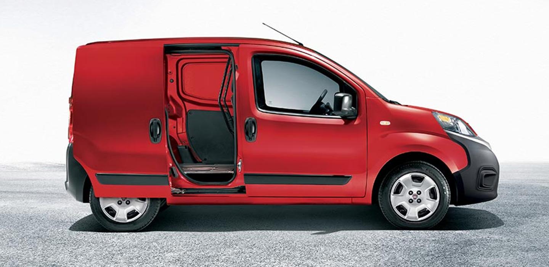 Fiat Professional Fiorino Side View