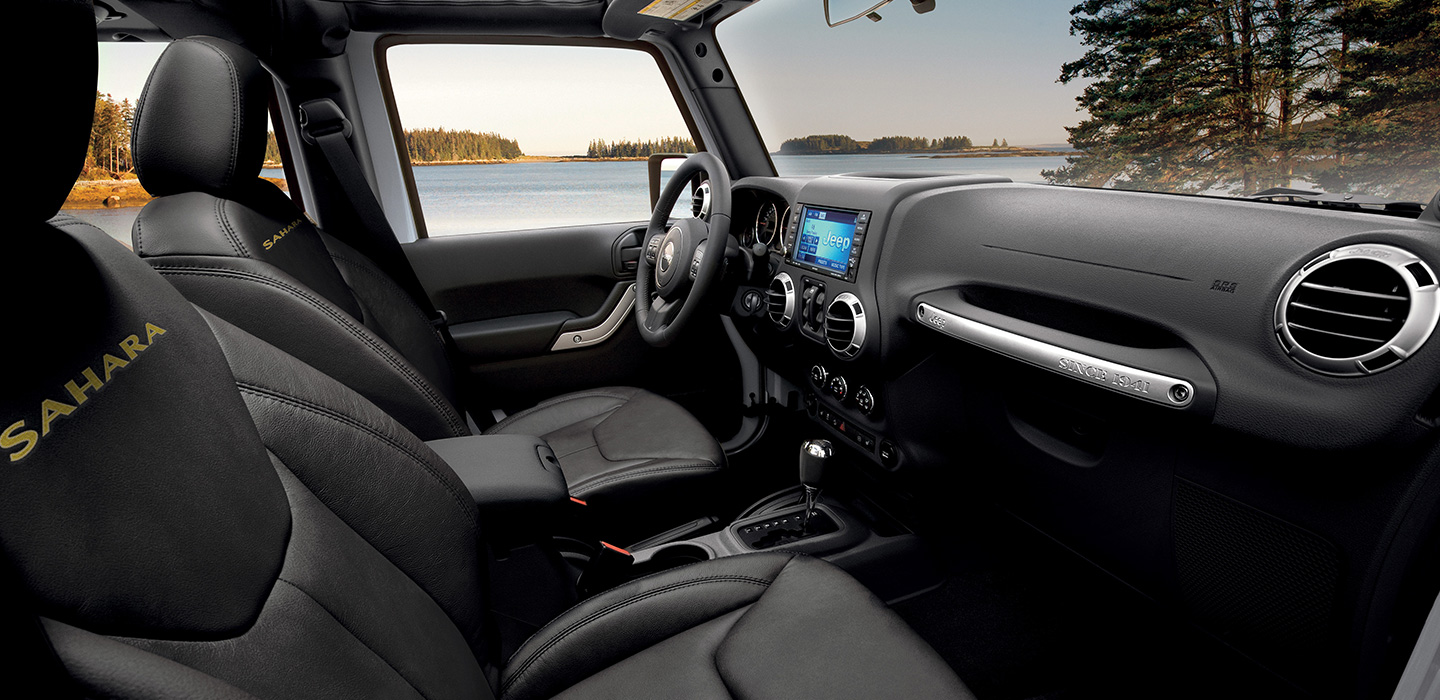 Jeep Wrangler Interior