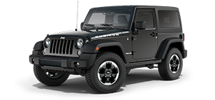 Black Jeep Wrangler Rubicon