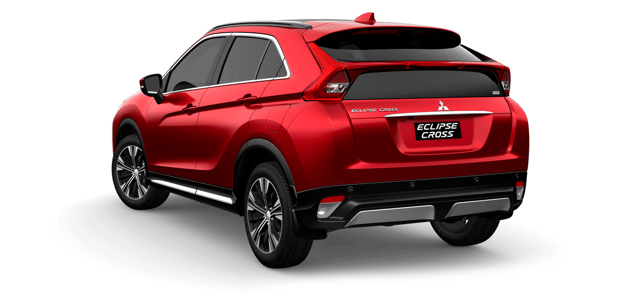 Mitsubishi Eclipse Rear View