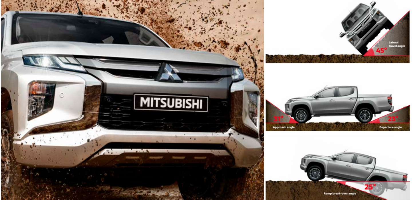 Mitsubishi Triton 2019 Safety