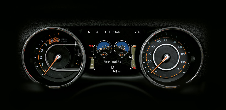 Jeep Wrangler Speed Dial
