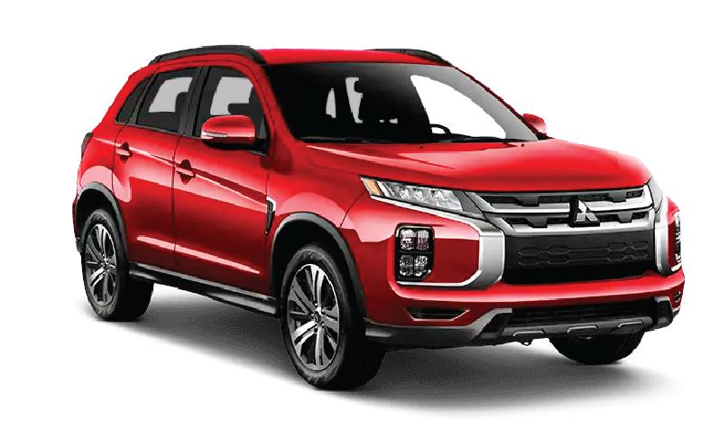 Mitsubishi ASX Red 2020